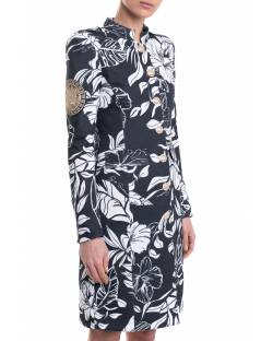 PATTERNED TRENCH COAT WITH LOGATED DETAILS 11XPT933