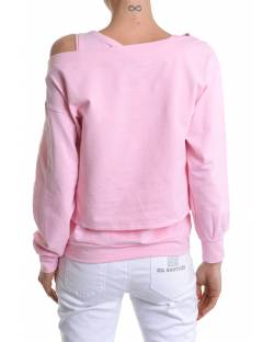 CROPPED SWEATSHIRT WITH EMBROIDERED LOGO AND INNER TANK TOP 11BPT700