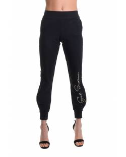 GYMNASTIC TROUSERS WITH LOGO EMBROIDERY ON THE FRONT 11BPT706