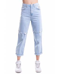 JEANS-BERMUDA WITH AUTOMATIC JEWEL BUTTONS 11CPT520